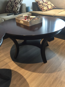 Bombay Coffee Table and Matching End Table-Priced to Sell ASAP