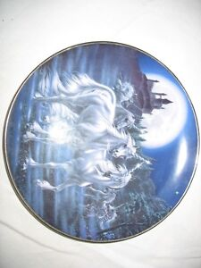 The Diamond Unicorn Series Collector Plates By The Franklin Mint Gatineau Ottawa / Gatineau Area image 8
