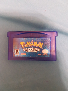 Pokemon Sapphire Version GBA