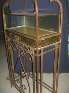 DISPLAY CABINET $325, TABLE $150 SMALL TABLE $250