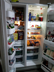 daewoo american fridge freezer
