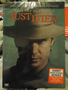 JUSTIFIED FINAL SEASON BRAND NEW SEALED