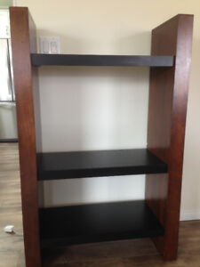 Attractive Solid Wood Shelving Unit