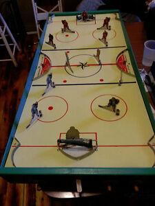 Jeu de hockey sur table années 50 antique vintage