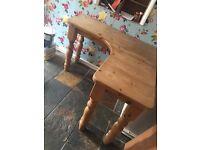 Solid pine desk/table furniture