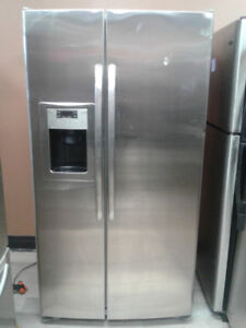 """fridge GE side by side stainless s 36"""""""