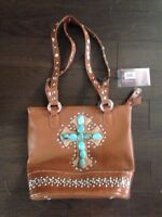 Country road collection leather bag - brand new