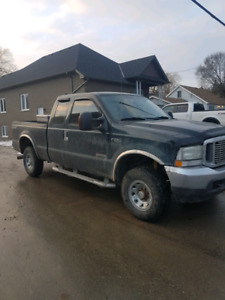 2004 Ford 250 extended cab Diesel