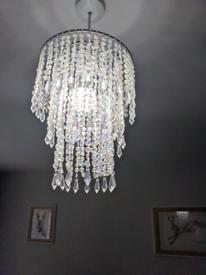 Crystal light pendant