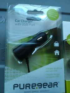 Puregear USB Car Charger