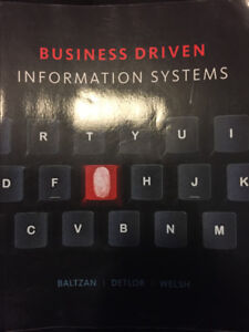 Business Driven Information Systems Third Canadian Edition - ITM
