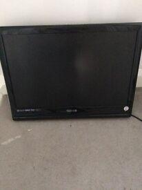 "22"" lcd TV and DVD. Spares repair"