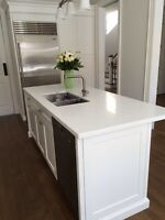 Custom Granite & Quartz countertops. ONLY $30 per sq ft
