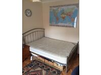 DOUBLE BED + MATTRESS NEED GONE ASAP