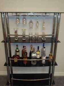 Beautiful Glass Bar Stand Kitchener / Waterloo Kitchener Area image 2