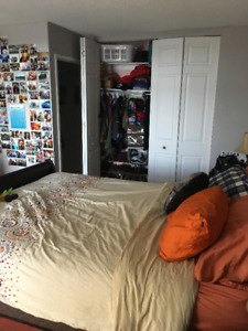 Unfurnished Summer Sublet; May 1 - August 31