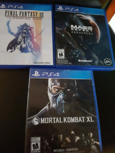 PS4 Games For Sale --GREAT DEALS--