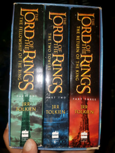 $15 OBO - Lord of the Rings Book Set