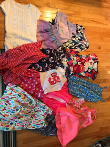 Lot of girl clothes size 5-6. Mostly summer.