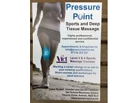 Sports and Deep Tissue Massage