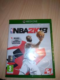 Basketball XBOX ONE GAME NBA2K18
