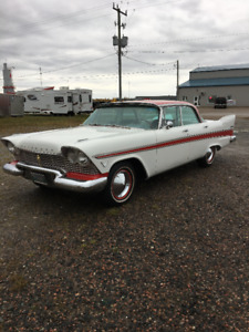 1957 plymouth belvedere 4 door ht