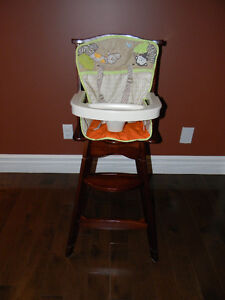Buy or sell baby items in moncton buy sell kijiji for Chaise haute bebe bois