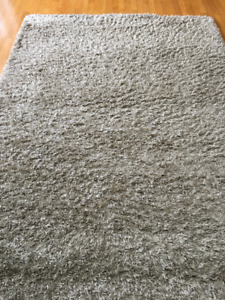 IKEA High Pile 160cm x 225cm brown rug