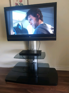 42 inch LG HD TV with stand and mounting bracket!