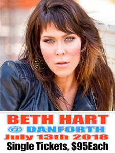 BETH HART@ DANFORTHMUSIC HALL–SINGLE TICKETS FOR CHEAP!