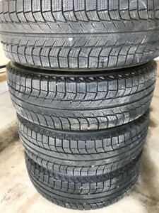 Michelin winter tires 225/65R17 with rims 5x114.3
