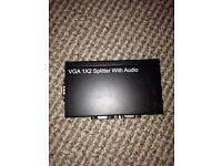 VGA splitter with audio