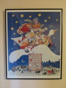 Old Mother Goose art print