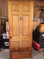 Wood Exterior door slab