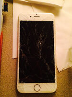 Selling IPHONE 6 gold 64G $400 rogers lock.
