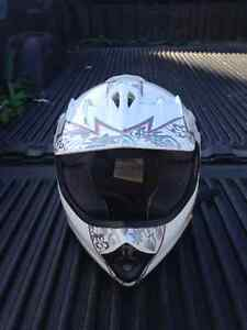 Girls dirt bike helmet