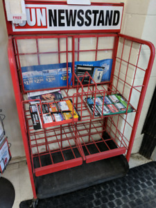 Newstand for sale