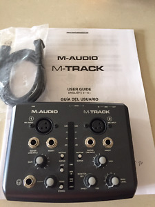 M-Audio  Computer interface