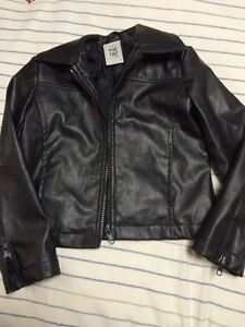 Size 4T pleather jacket