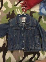 Levis jean jacket size 24m/2T