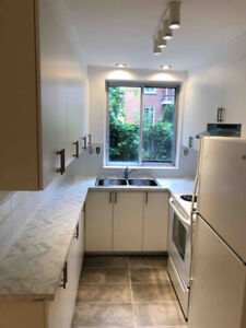 Large 4 1/2 of 2 closed BR fully renovated Layola Snowdon NDG