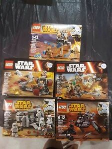 Lego Star Wars and Super Hero Sets For Sale Brand New