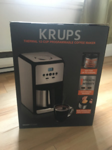 KRUPS Thermal 12-cup programmable coffee maker