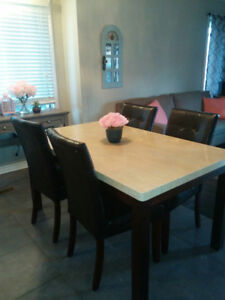 MAKE AN OFFER Dining Table And 4 Chairs