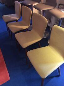 john lewis - Radar / Maya Padded Dining Chairs x4 vgc rrp £139 each