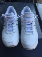 Asics leather shoes