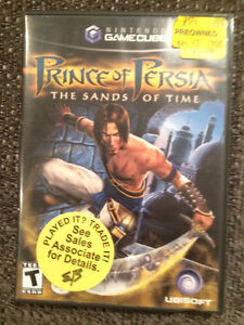 Prince of Persia The Sand of Time Nintendo Gamecube