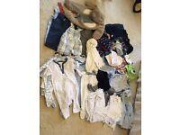 Job lot baby clothes & items