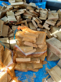 Firewood for fire pit or chimanea