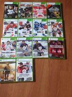 Xbox 360 avec 16 jeux et 3 manettes